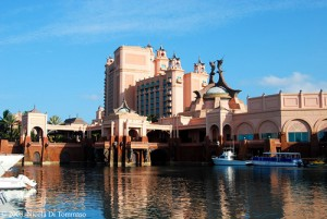One of the towers at Atlantis Bahamas